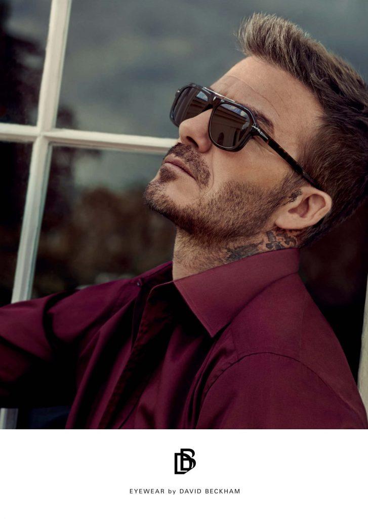 David Beckham okulary przeciwsłoneczne